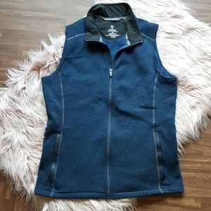 Kuhl M Blue Kashmira Knit Vest Men's Outdoor